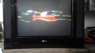 {122}# TV LG 21 FU 1RL com defeito no VERTICAL, Aprenda como recuperar uma BOB: DEFLETORA.