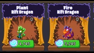 Dragonvale Mini: Ep. 6 Getting the Fire and Plant Rift dragons!