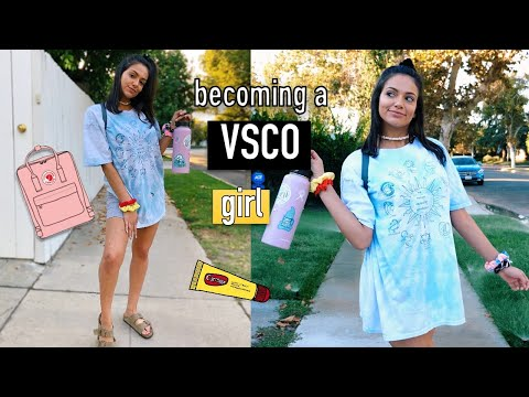 Transforming Into The Ultimate VSCO GIRL For A Day