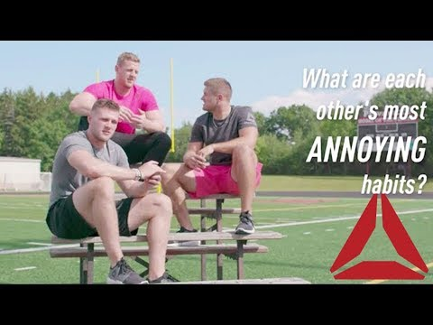 97474417a3e Watt Brothers  RealTalk About Sibling Rivalry. Reebok