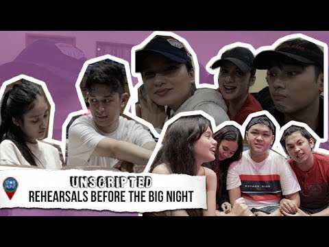 PBB Otso Ex-Housemates nagkulitan sa kanilang Big Night rehearsals  Star Hunt Unscripted