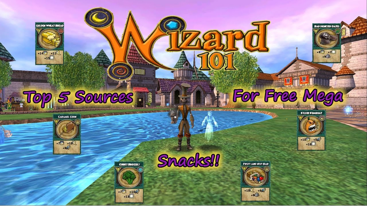 Wizard101 Top 5 Free Mega Snack Sources No Couch Potatoes Or Boss
