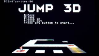 JUMP 3D: a 3D platform game for SmileBASIC