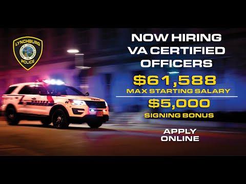 Lynchburg Police Department Recruitment Video