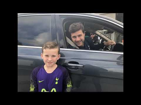 Mauricio Pochettino and Olly T
