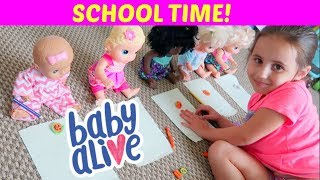 Baby Alive Learning at School | ThePlusSideOfThings