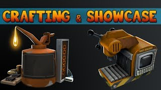 Crafting a Professional Killstreak Weapon (Flamethrower) + Showcase! [HD] [Team Fortress 2]