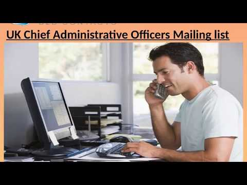 UK Chief Administrative Officers Mailing list