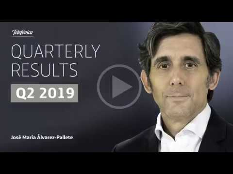 Resultados Telefónica 2T 2019   José María Álvarez-Pallete