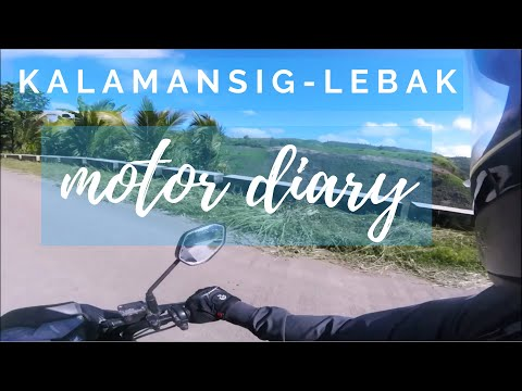 Kalamansig-Lebak : Motor Diary