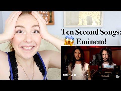 Ten Second Songs - Eminem: Rap God Reaction!