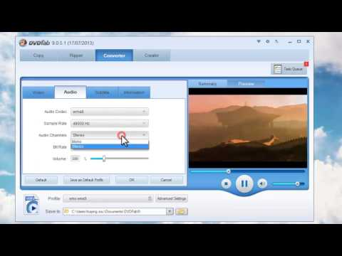 How to convert MP4 to WMV with DVDFab Video Converter?