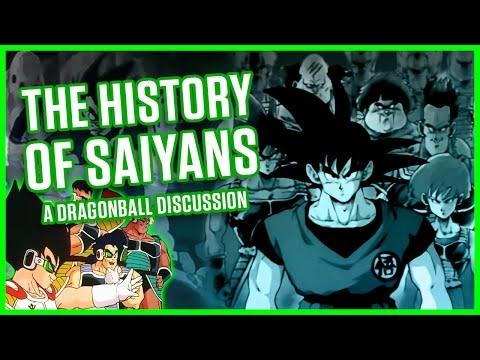HISTORY OF SAIYANS   A Dragonball Discussion