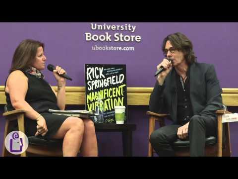 Rick Springfield at University Book Store