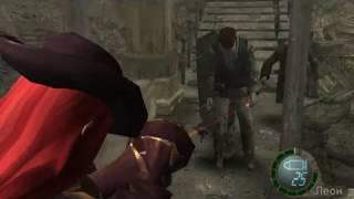 Прохождение Resident Evil 4 на сложности ВЕТЕРАН #12 | Пушки против вертолета и аниме