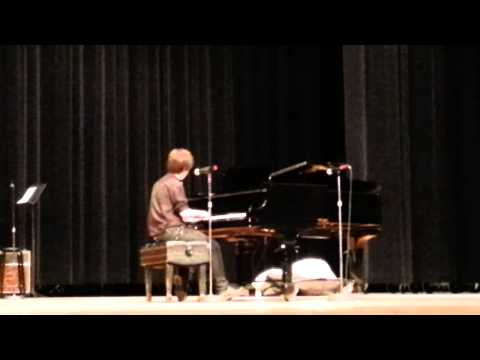 "Coldplay's ""Viva la Vida"" performed by Cameron Neader at Central High School Talent Show"