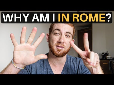 WHY AM I IN ROME? (7 Day Detox)