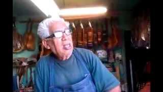 Eusebio Rincón Aguilar-8 Laudero Mexicano 60 años de experiencia