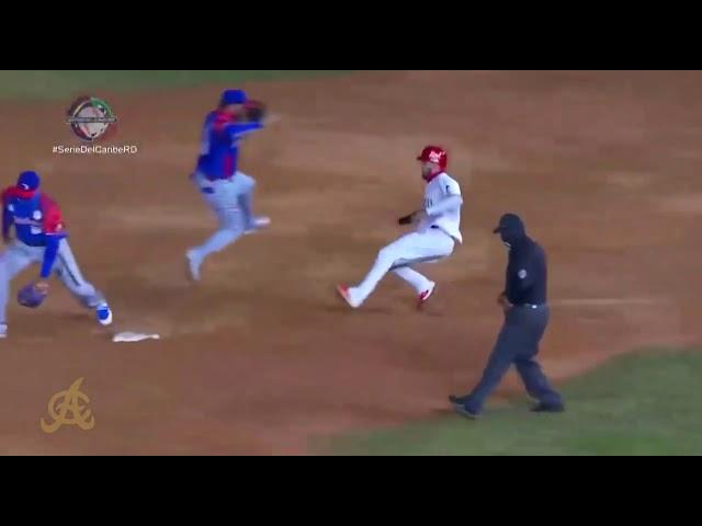Jugadas destacadas: Águilas Cibaeñas vs Tomateros de Culiacán - Serie del Caribe 2021