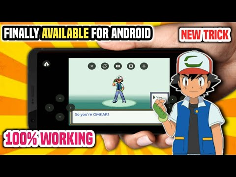 How To Download And Play Pokemon Fire Ash On Any Android 2020