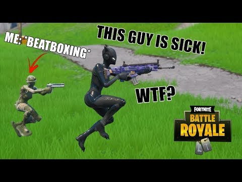 "Beatbox random Squads in Fortnite! #4 - ""Can you do Boots n' Cats?"""