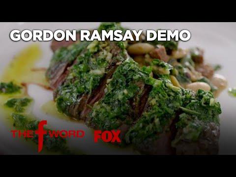 Gordon's Skirt Steak With Chimichurri Sauce Recipe: Extended Version   Season 1 Ep. 8   THE F WORD