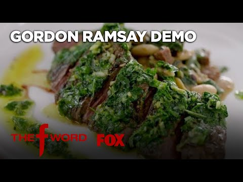 Gordon鈥檚 Skirt Steak With Chimichurri Sauce Recipe: Extended Version | Season 1 Ep. 8 | THE F WORD