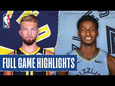 PACERS at GRIZZLIES | FULL GAME HIGHLIGHTS | December 2, 2019