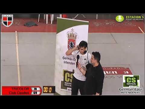Básquet en vivo: Cinco Saltos vs. Cipolletti