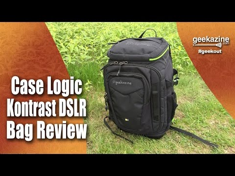 d4b8b35175963 Case Logic Kontrast DSLR Backpack Review - YouTube