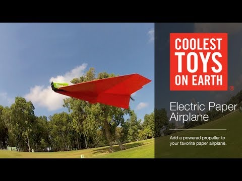 Electric Paper Airplane - Coolest Toys On Earth, Cincinnati