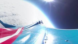 360° cam captures Russian MiG 29 flying into the stratosphere