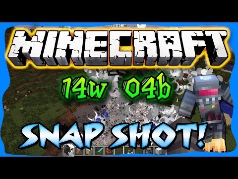 Minecraft: Full SNAPSHOT REVIEW! 14W04A & B