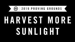 PG19: Harvest More Sunlight - In Session Video