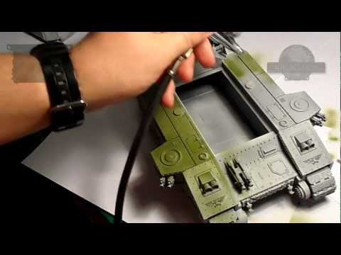 How to paint a realistic tank