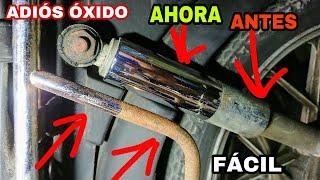 Cover images Quitar OXIDO fácil Metales y Cromados