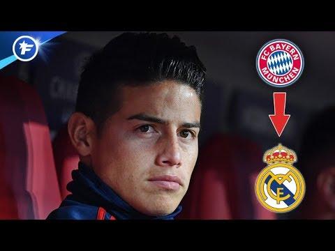 Le Bayern ne veut plus de James Rodriguez | Revue de presse