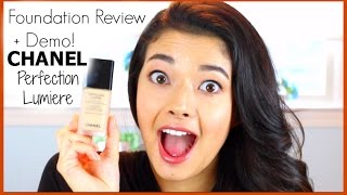 Chanel Perfection Lumiere Foundation Review + Demo! Thumbnail