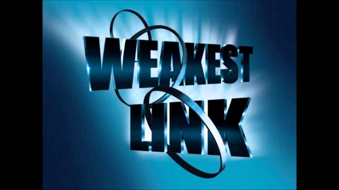 Image result for the weakest link
