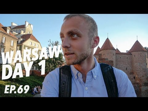 FLYING TO A NEW COUNTRY! – Exploring Warsaw Day 1 🇵🇱