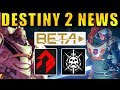 Destiny 2 News: ONLY 2 SUBCLASSES, SIVA is Back, Locked Loadouts, New Social Space & More!