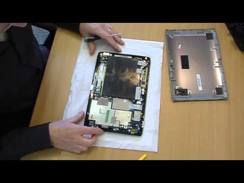Acer Iconia A500 Battery Removal