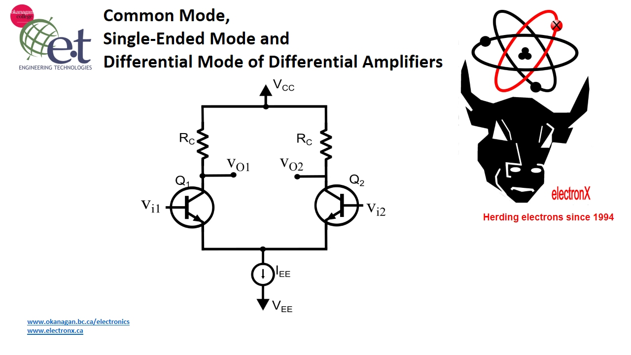 Bjt differential amplifiers inputs and outputs youtube bjt differential amplifiers inputs and outputs pooptronica