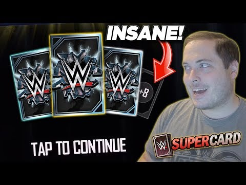 THIS PACK IS SO INSANE, IT SHOULDN'T BE IN THE GAME! | WWE SuperCard S5