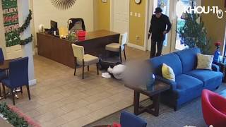 Surveillance video shows 93-year-old man shoot apartment manager in both legs