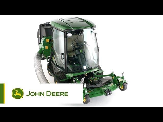 The John Deere 1585 TerrainCut Front Rotary Mower