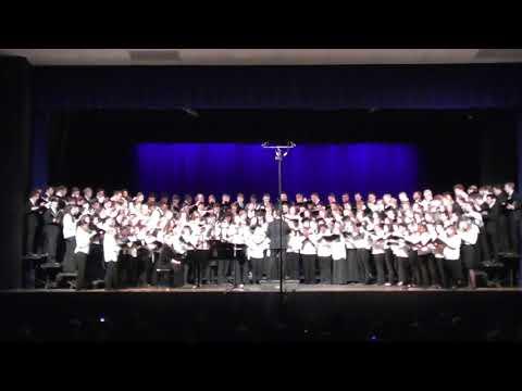 2018 Southeastern District  Senior Music Festival Bourne High School MA Chorus 5