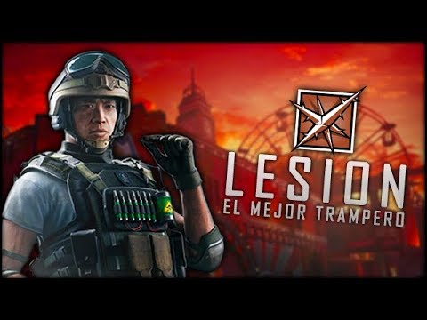 RAINBOW SIX SIEGE - GUÍA DE LESION: El trampero por excelencia | Trucos y Consejos DLC Blood Orchid