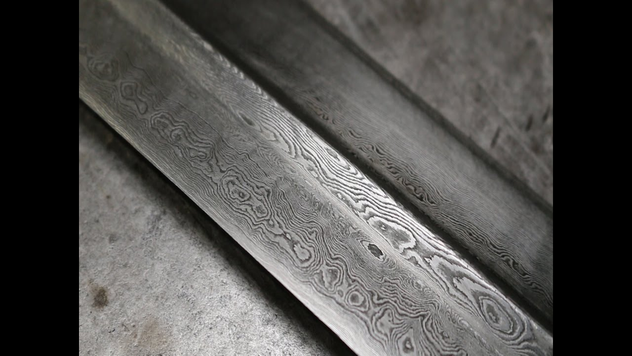 Pattern Welded Sword Interesting Design Inspiration