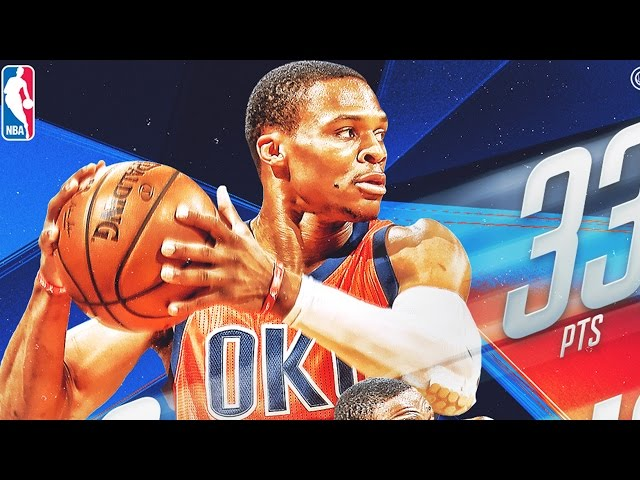 Westbrook Triple Doubles Again in Win Over Lakers